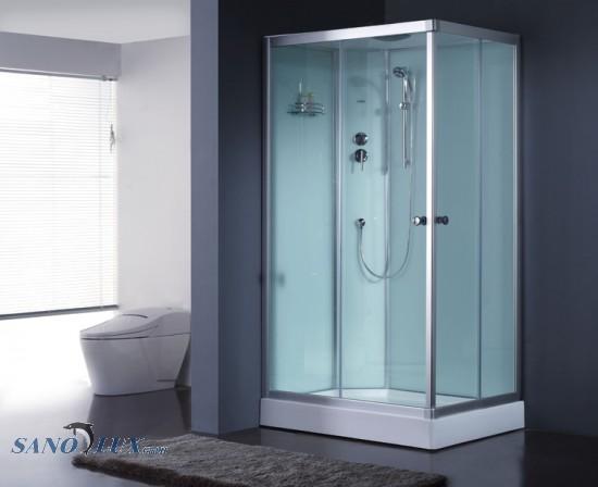 geschlossene Duschkabine 1200-11IH weiss 120x90 links - SANOSTAR ...