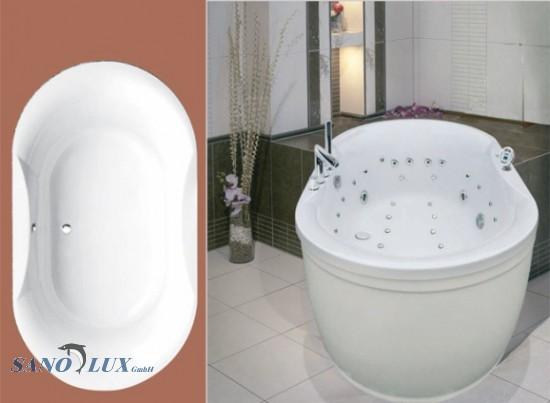 Dusche Im Holzboden Einbauen : Wandverkleidung Dusche Acryl : Acryl Wanne Rumba SANOSTAR Onlineshop