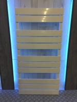 Ausstellungsheizkörper Sanolux LAVIDA 1120x550 in weiss