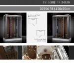 Dampfdusche 150x90cm für 2 Personen ab Ausstellung