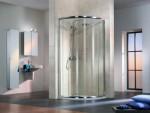 Duschtrennwand Sonderangebot - Favorit Viertelkreis-Dusche 90 cm