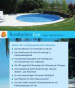 All-in Rund-Einbaubecken -Set FUN Höhe 1.20/1.50m in 6 Grössen