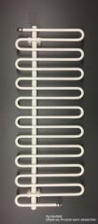 Sanolux Badheizkörper S-Design, weiss 1750x500 an Heizungsnetz